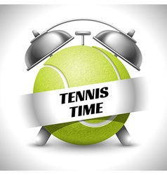 Tennis time vector