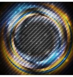 Glossy rings vector image