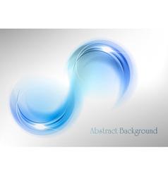 abstract shape smoke vector image vector image