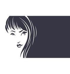 Beauty hair banner vector