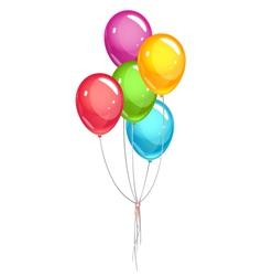 Party ballons vector image
