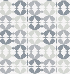 Silver infinity circles seamless pattern vector