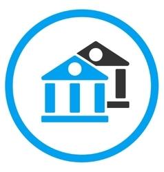 Banks Flat Icon vector
