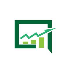 Business consult logo designs icon modern vector