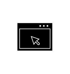 cursor application icon signs and symbols can be vector image
