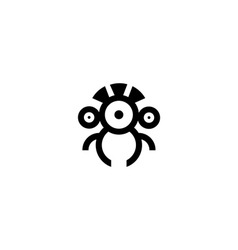 Drone or robot icon vector