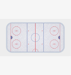 Ice hockey rink textures blue ice ice rink top vector