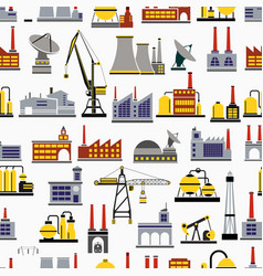 industrial seamless repeating vector image