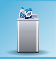 laundry soap advertising product vector image