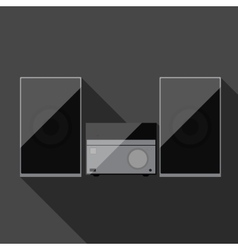 Music system vector image