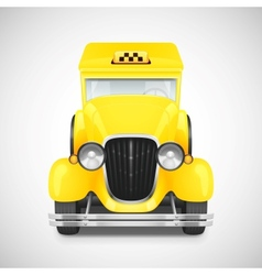 Retro car icon vector image