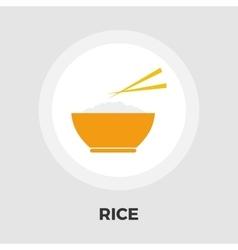 Rice icon flat vector image