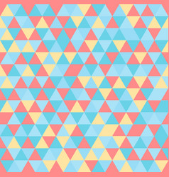 vintage geometry pattern candy and sweet retro vector image