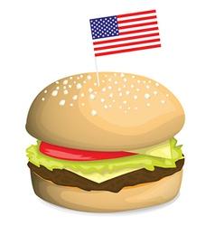 Burger design vector image
