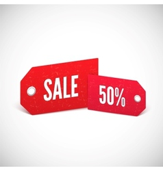Price tags set vector image vector image