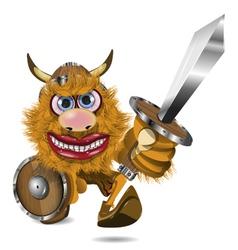 Aggressive viking vector