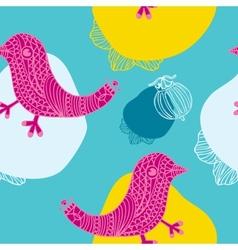 Bird Seamless Background vector