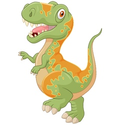 Cartoon tyrannosaurus vector