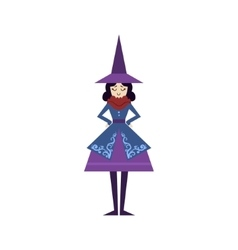 Fairytale Witch Drawing vector image