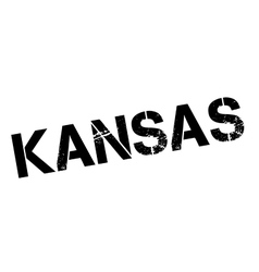 Kansas rubber stamp vector image