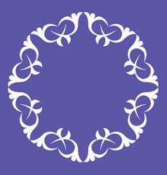 ornamental pattern design vector image