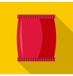 Plastic jar icon flat style vector image