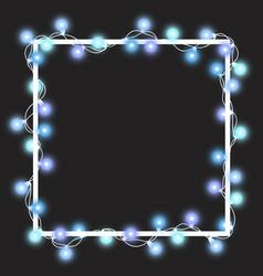 light garland vector image
