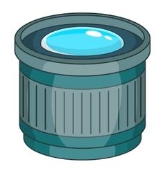 Objective icon cartoon style vector image