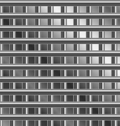 Stainless steel background vector image vector image