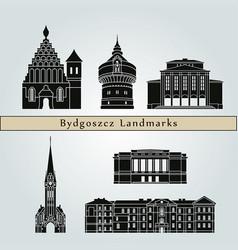 bydgoszcz landmarks vector image