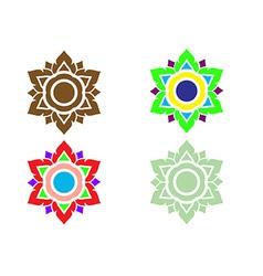 Thai pattern art vector image