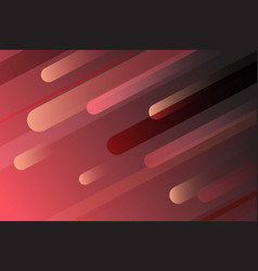 abstract hot red line geometric background vector image