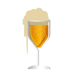beer glass icon image vector image