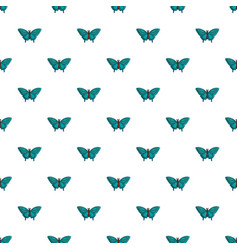 Butterfly morpho anaxibia pattern seamless vector