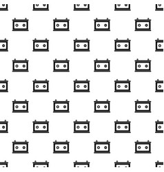 Car battery pattern seamless vector