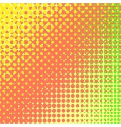 Colorful Halftone Texture vector image