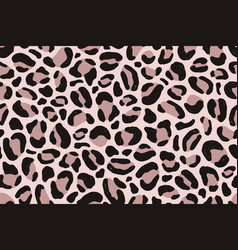 elegant natural animalistic seamless pattern vector image