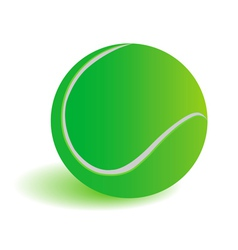 Green ball vector