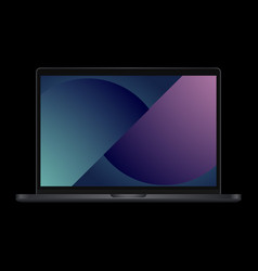 Laptop pro vector