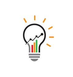 marketing finance sales economical business vector image