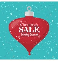 Merry christmas shopping vector