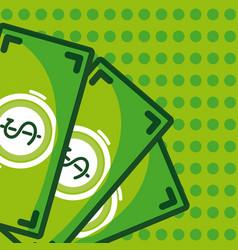 Money and savings vector