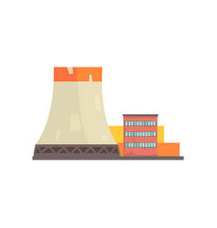 power plant or factory industrial manufactury vector image