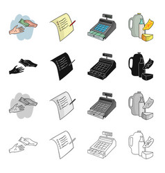 tools product store and other web icon in vector image