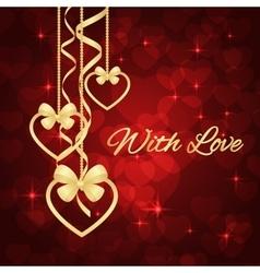 Wonderful Valentines background vector