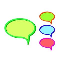messenger icon vector image