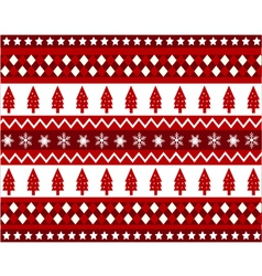 seamless pattern with christmas texture vector image