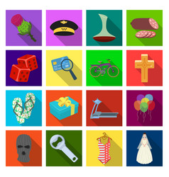 celebration sport business and other web icon in vector image vector image