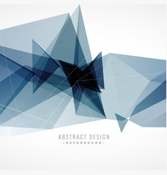 Abstract background with geometric artwork vector