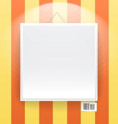 Blank frame on wall line wallpapers vector